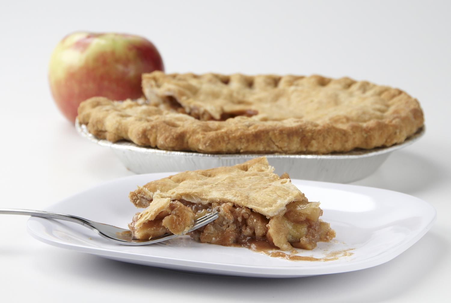2 crust apple pie
