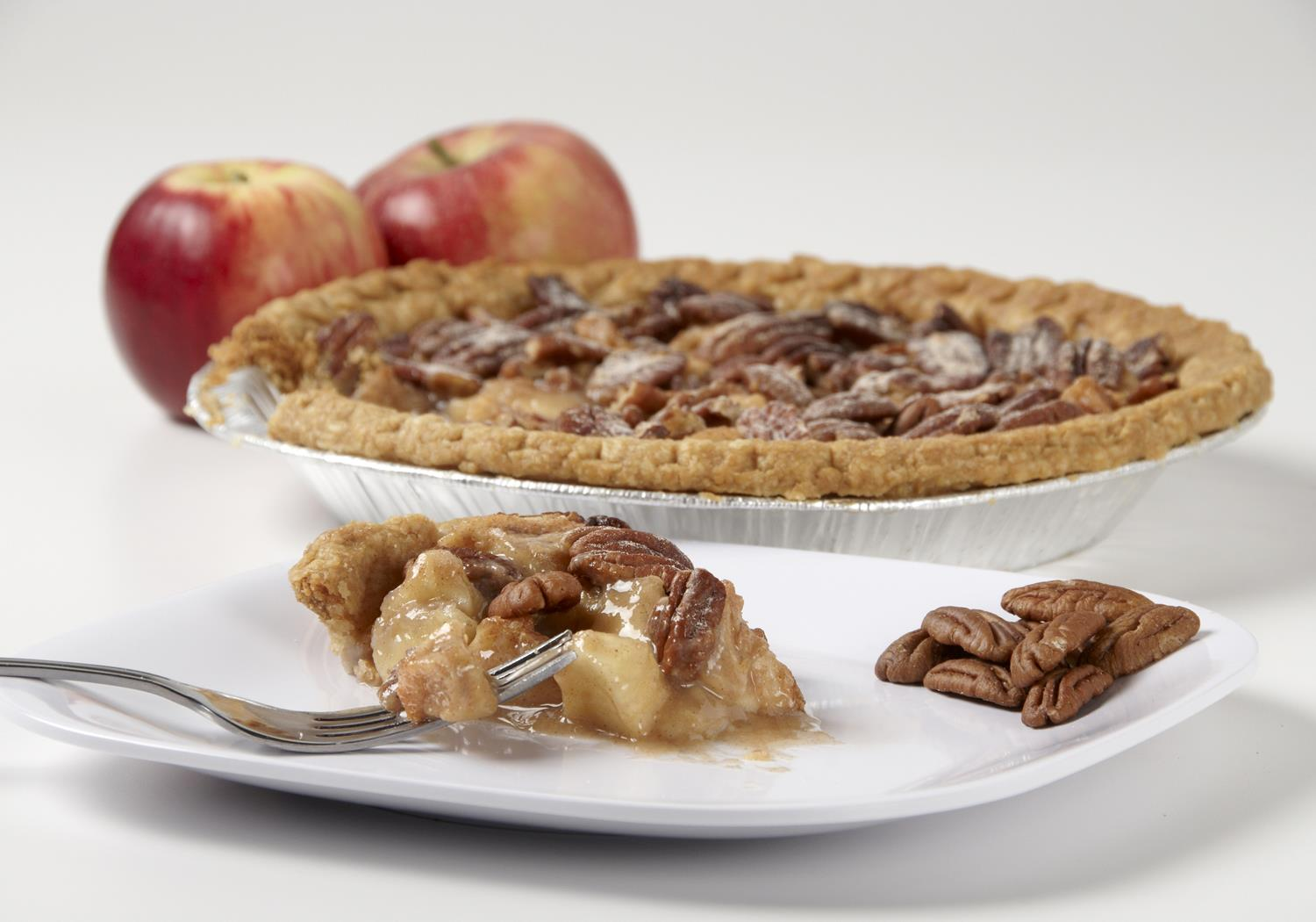 pecan-apple pie